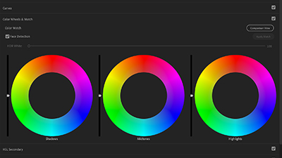 Color Correction: White Balancing with Color Wheels